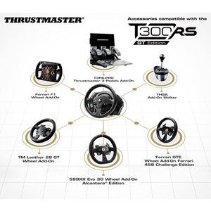 スラストマスター Thrustmaster T300RS GT Edition Racing Wheel レーシング ホイールPS3/PS4|tywith