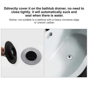 Acogedor 排水プラグ バスタブ排水カバー 廃液プラグ 実用性と便利性に優れる 操作簡単 使用便利|tywith