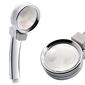 Greesuit シャワーヘッド 増圧 節水 極細水流 軽量 ストップボタン付き 極細水流 取付け簡単|tywith