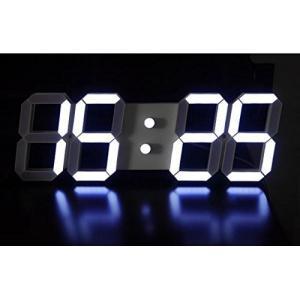 sealche LED ウォールクロック LEDデジタル時計 壁掛け時計 置き時計 インダストリアル 男前 インテリア 文字盤 大型 クール tywith