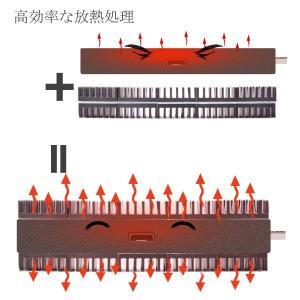 ヒートシンク 20mmX14mmX6mm firetv スティック ブラック 熱伝導性両面テープ付き...