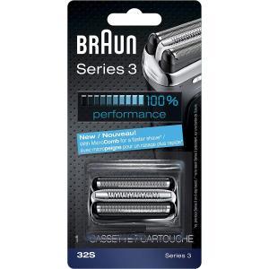 ブラウン シェーバー シリーズ3用 網刃・内刃一体型カセット F/C32S と同一品 並行輸入品|tywith