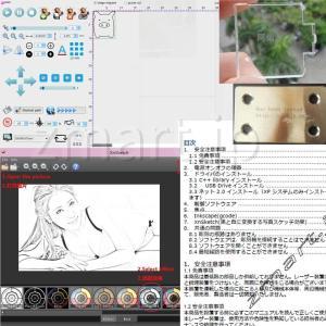 zmart 15W 強力レーザー加工機 USB 小型 15000mW 金属刻印 小型 卓上 旋盤 レーザープリンター 印刷 彫刻機 DIY|tywith