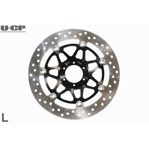 ホンダ CB400FOUR SF VTEC CB400 Revo CBR400RR RVF VFR400R CBR600F CBR900RR等 ディスクブレーキローター ブラック 左側用|u-cp3