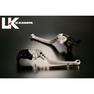 U-KANAYA ヤマハ V-MAX('09~'11) アルミビレットレバーセットTYPE-A チタン ブレーキレバー/クラッチレバー/送料無料|u-cp3