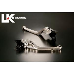 U-KANAYA Aprilia トゥオーノ/R('03~'09) アルミビレットレバーセットTYPE-A チタン ブレーキレバー/クラッチレバー/送料無料|u-cp3