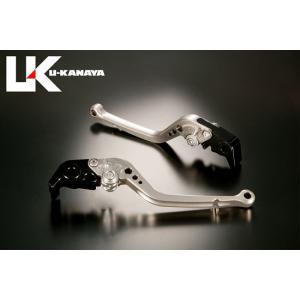U-KANAYA KTM 990SuperDuke('05~'12) アルミビレットレバーセットTYPE-A チタン ブレーキレバー/クラッチレバー/送料無料|u-cp3
