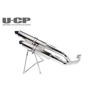 ヤマハ マジェスティ250C ツインアップマフラー U-CP ユーシーピー|u-cp3