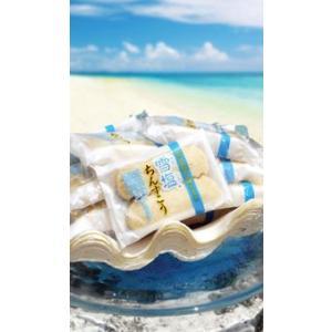 南風堂 雪塩ちんすこう  ミニ袋 6個(2個×3袋)入り|u-ishigakijima|02