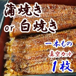 職人の手焼き蒲焼きor白焼き【鰻1本】 u-noguchi