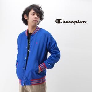 Champion チャンピオン メンズ スナップジャケット(C3-H604)(BASIC)|u-oak