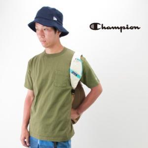 Champion チャンピオン メンズ T1011 ポケット付き US Tシャツ(C5-B303)(BASIC)|u-oak