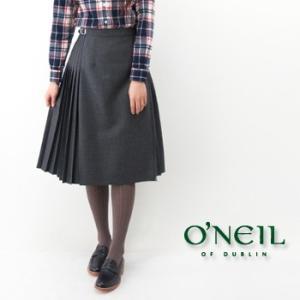 O'NEIL OF DUBLIN オネイル/オニールオブダブリン レディース アコーディオンキルトスカート(114ABL)(BASIC)|u-oak