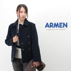 ARMEN アーメン レディース ダブルフェイスピーコート(PNAM1651W)(FW)|u-oak