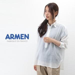 ARMEN アーメン レディース ユーティリティープルオーバーシャツ(INAM1701)(2017SS)|u-oak