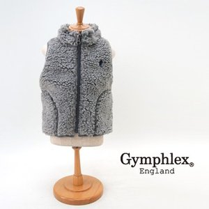 【Gymphlex-ジムフレックス】 キッズ スタンドカラージップボアべスト Gymphlex-ジム...