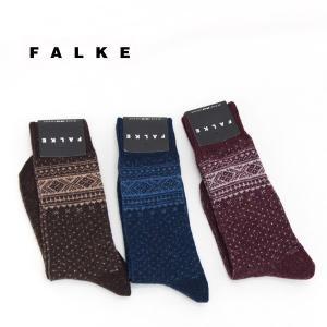 FALKE ファルケ メンズ ノルディックツイードソックス(14093)(2017FW) u-oak