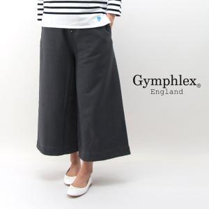 Gymphlex ジムフレックス レディース オープンドヤーンテリー スウェットワイドパンツ(J-1278)(2018SS)|u-oak