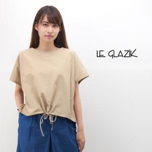 Le glazik ル グラジック レディース 半袖 プルオーバーシャツ(JL-3659TYG)(2018SS)|u-oak