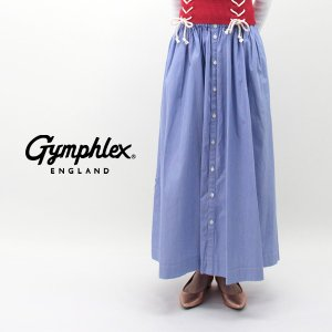 Gymphlex ジムフレックス レディース MULTI STRIPE ギャザーロングスカート(J-1360MUP)(2019SS)|u-oak