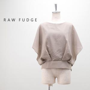 (SALE 30%OFF)RAW FUDGE ローファッジ レディース バタフライスリーブブラウス(769159)(2019SS)(返品交換不可)|u-oak
