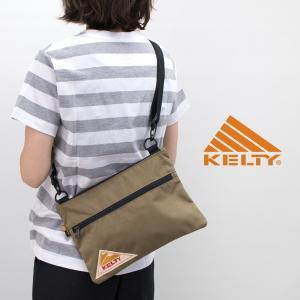 KELTY ケルティ VINTAGE FLAT POUCH SM サコッシュバッグ(2592214)(BASIC) u-oak