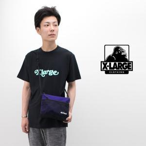 (SALE 30%OFF)XLARGE エクストララージ メンズ TAIL LOGO Tシャツ(01192131)(2019SS)(F-3)(返品交換不可) u-oak