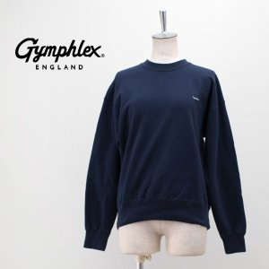 Gymphlex ジムフレックス レディース ヘビーウェイトテリー クルーネックスウェット(J-1383)(2019FW)|u-oak
