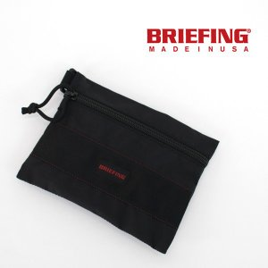BRIEFING ブリーフィング フラットポーチ M MW(BRM181608)(BASIC) u-oak