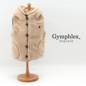 【Gymphlex-ジムフレックス】 キッズ くるみボタンボアベスト Gymphlex-ジムフレック...