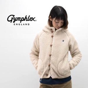 Gymphlex ジムフレックス レディース くるみボタン BOAフード ジャケット(J-1185P...