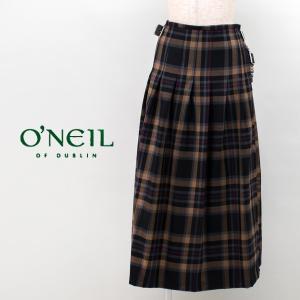 O'NEIL OF DUBLIN オネイル/オニールオブダブリン レディース プリーツキルトロングスカート(NOD0853)(BASIC)|u-oak