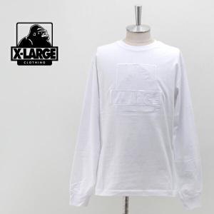 (SOLDOUT)XLARGE エクストララージ メンズ EMBROIDERY OG ロングスリーブTシャツ(01194102)(2019FW) u-oak