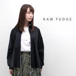 (SALE 40%OFF)RAW FUDGE ローファッジ レディース ブライトジャジーペプラムジャケット(769501)(2019FW)(返品交換不可)|u-oak