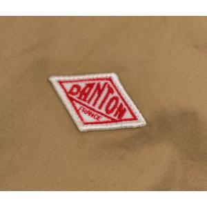 DANTON ダントン レディース コットンダウンプルーフ ノーカラージャケット(JD-8876DUK)(BASIC)|u-oak|06