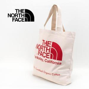 THE NORTH FACE ザノースフェイス TNFオーガニックコットントート(NM81971)(2020SS) u-oak