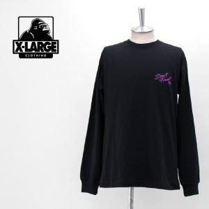 XLARGE エクストララージ メンズ L/S TEE マリッジブルー(01201103)(2020SS) u-oak