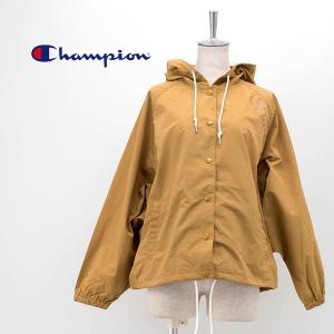 Champion チャンピオン レディース ウィメンズ フードスナップジャケット(CW-R601)(2020SS) u-oak