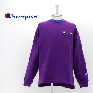 Champion チャンピオン メンズ ロングスリーブTシャツ(C3-R403)(2020SS)|u-oak