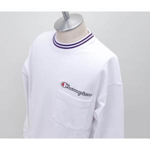 Champion チャンピオン メンズ ロングスリーブTシャツ(C3-R403)(2020SS)|u-oak|02