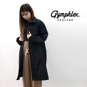 Gymphlex ジムフレックス レディース マイクロタフタ スタンドカラーコート(J-1419TIM)(2020SS)|u-oak