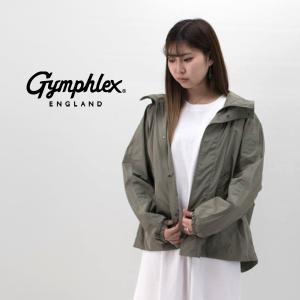 Gymphlex ジムフレックス レディース マイクロタフタ フードジャケット(J-1330TIM)(2020SS)|u-oak