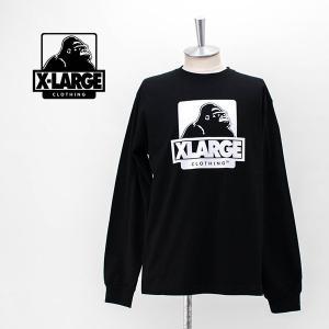 XLARGE エクストララージ メンズ L/S TEE OG ロングTシャツ(01201127)(2020SS) u-oak