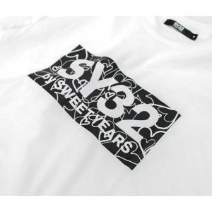 SY32 by SWEET YEARS エスワイサーティトゥバイスィートイヤーズ メンズ ハートボックスロゴ L/S TEE(10015J)(2020SS) u-oak 06