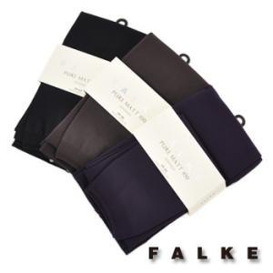 FALKE ファルケ PUREMATT100 レギンス(40111) u-oak