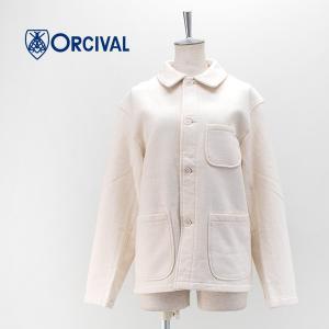 ORCIVAL オーシバル レディース 60/2 FLEECY カバーオールジャケット(RC-9244)(2020FW) u-oak