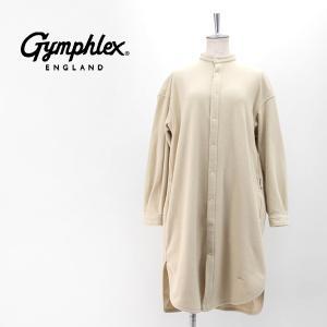 Gymphlex ジムフレックス レディース サーマルインシュレーションフリース シャツワンピース(J-1449LIT)(2020FW)|u-oak