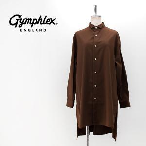 Gymphlex ジムフレックス レディース T/W/R ストレッチビエラ ウィングカラーシャツ(J-1469PWR)(2020FW)|u-oak