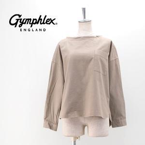 Gymphlex ジムフレックス レディース 60/2ビエラ起毛無地 プルオーバーシャツ(J-1424BSD)(2020FW)|u-oak