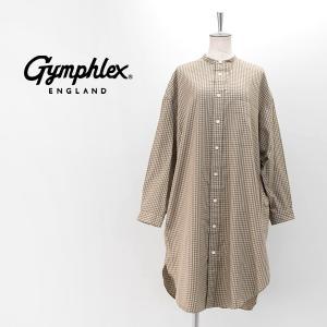 Gymphlex ジムフレックス レディース ビエラチェック シャツワンピース(J-1363VFC)(2020FW)|u-oak